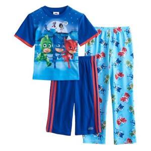 PJ Masks Pyjamas Pjs Boys Pj/'s Gekko Owlette Catboy Pyjama Set T2TC604 S17