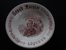 Vintage Grand Marnier Liqeur Advertising Dish Pottery Ceramic Transfer Printed