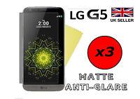 3x HQ MATTE ANTI GLARE SCREEN PROTECTOR COVER SAVER LCD FILM GUARD FOR LG G5