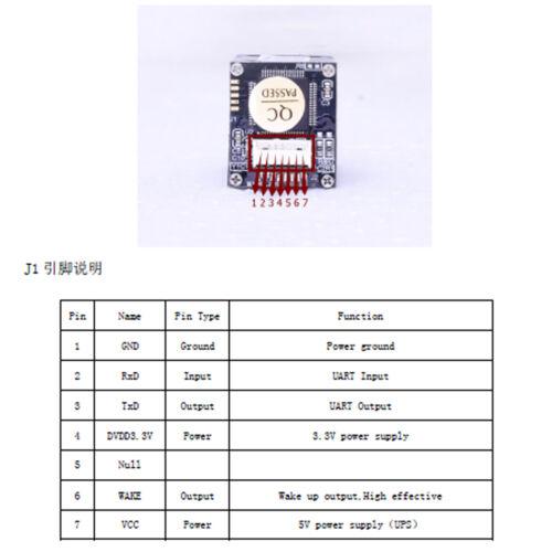 1pc Optical Fingerprint reader Sensor Module sensors All-in-one For  Lock