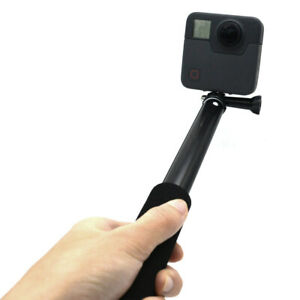 Telescopic-Monopod-Selfie-Pole-Stick-for-GoPro-Camera-with-Phone-Clamp