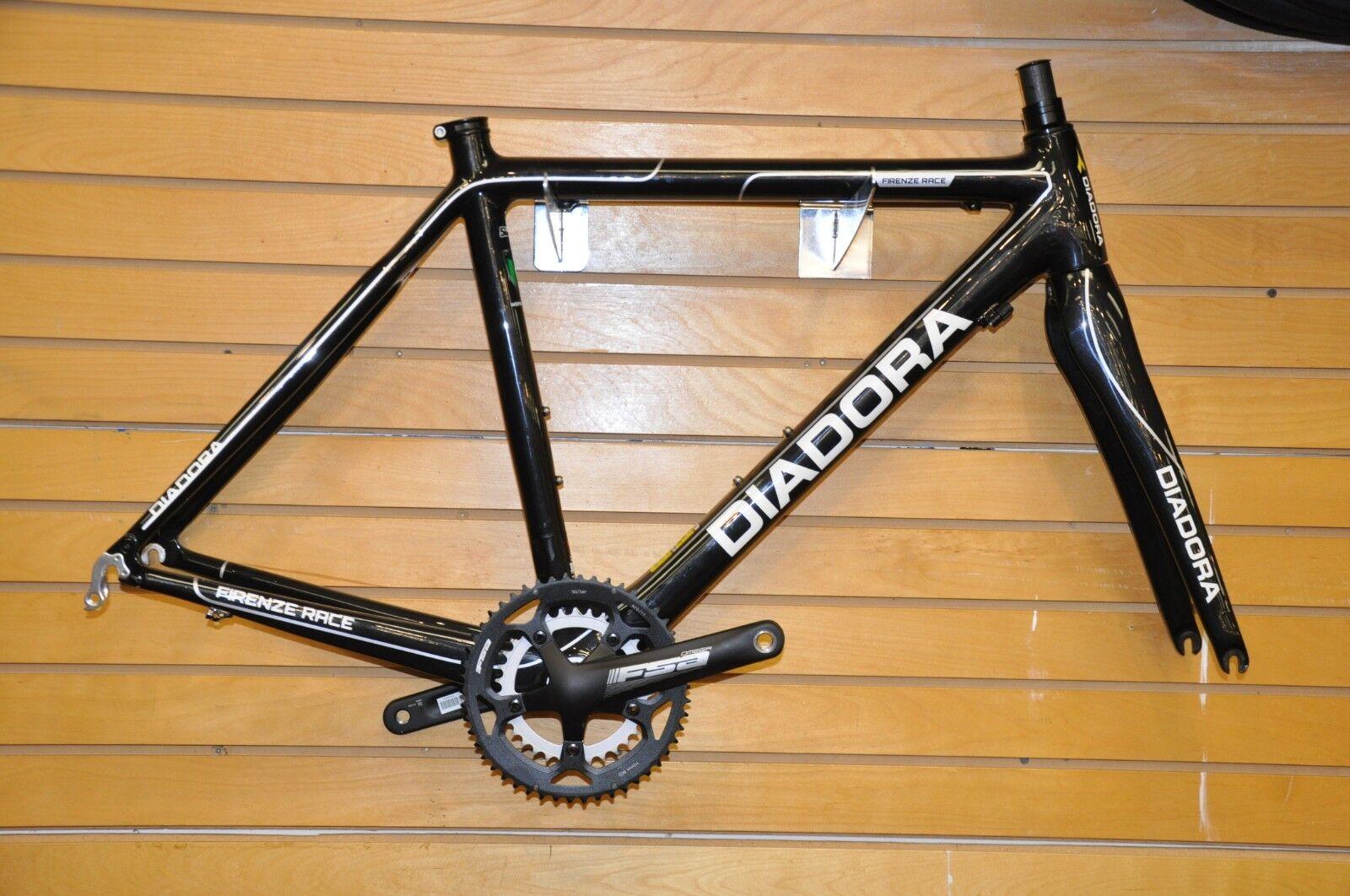 56cm Carbon Frameset with FSA Cranks