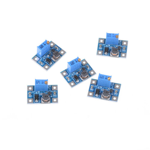 5pcs 2-24V to 2-28V 2A DC-DC SX1308 step-up adjustable power module-QY