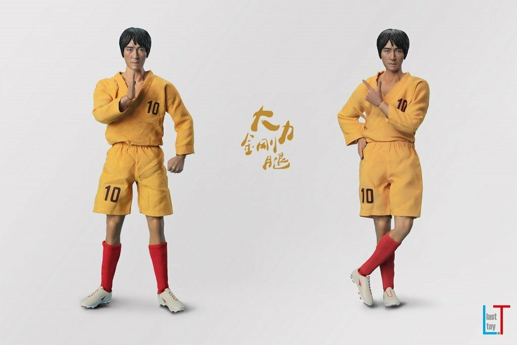 1 6 Last Toys Shaolin Soccer Mighty Steel Leg Sing Stephen Chow 12  Figure