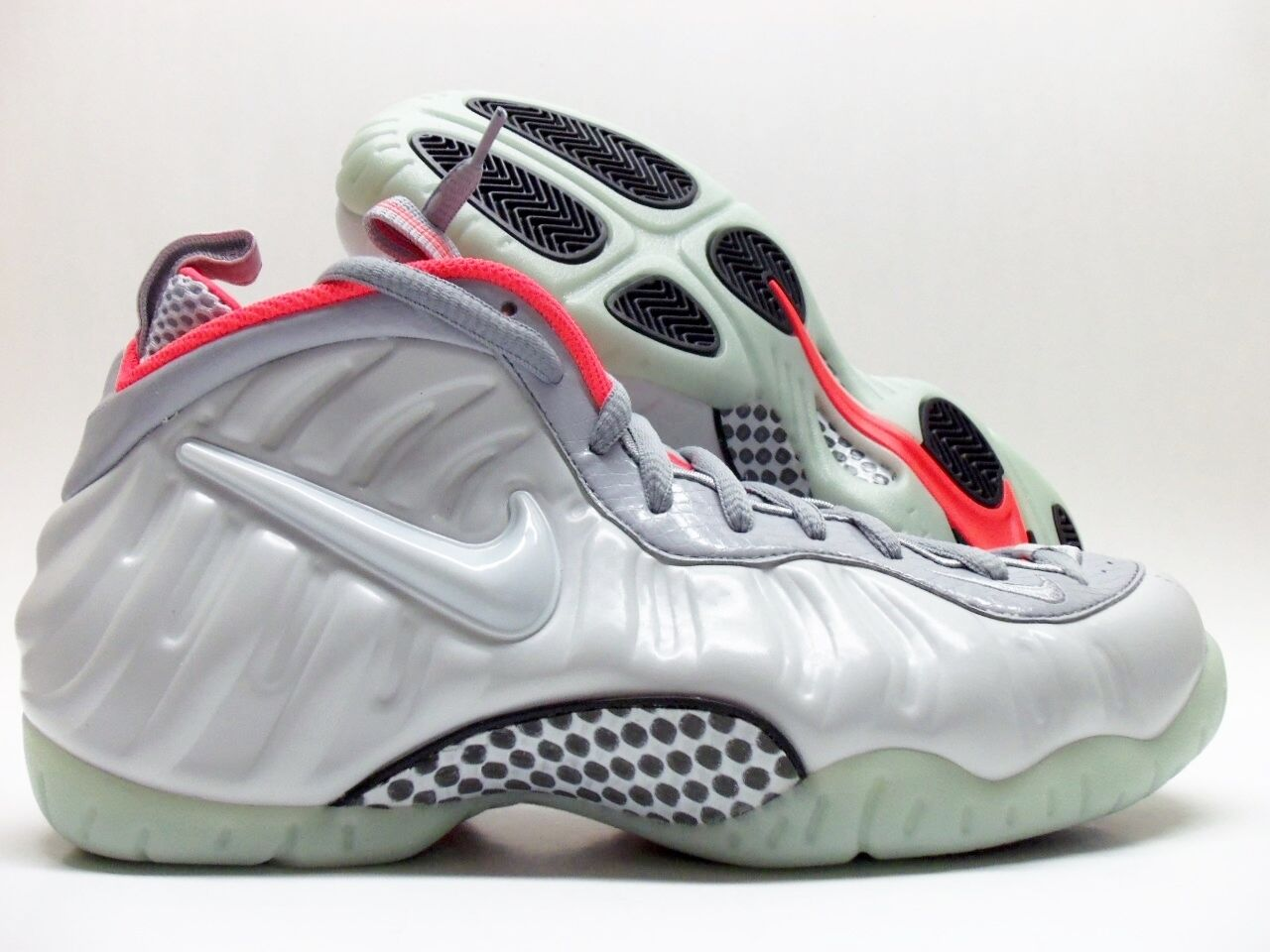 NIKE AIR FOAMPOSITE PRO PRM PREMIUM PURE PLATINUM/GREY Price reduction best-selling model of the brand