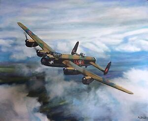 Image result for paintings raf lancaster