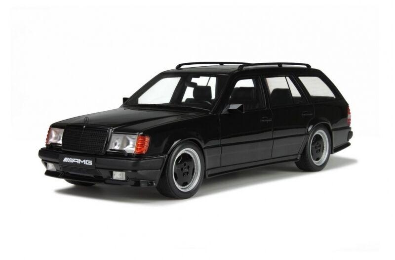 Otto Mobile 1988 Mercedes Benz S124 300TE AMG nero 1 18 artículo 2000New Edición Limitada