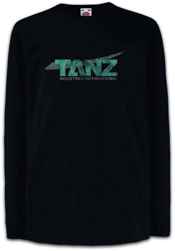 Tanz Industries Kids Long Sleeve T-shirt Salvation Symbol Sign Logo Company