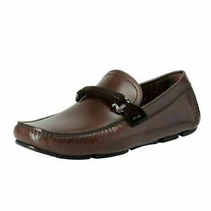 Salvatore-Ferragamo-Men-039-s-GRANPRIX-Driving-Moccasins-Shoes-US-6-5-EU-39-5-EE