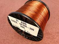 21 Awg...enamel Magnet Wire.....200c 5 Lb..21 Ga..essex...free Shipping