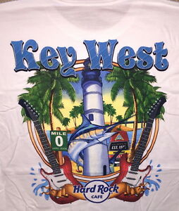 Hard-Rock-Cafe-KEY-WEST-FL-2017-City-Tee-T-SHIRT-Mens-Size-LARGE-NEW-w-HRC-TAGS