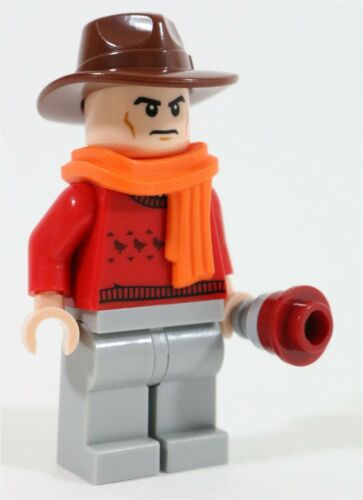 LEGO DOCTOR WHO TOM BAKER 4TH DOCTOR MINIFIGURE DR WHO MADE OF GENUINE LEGO