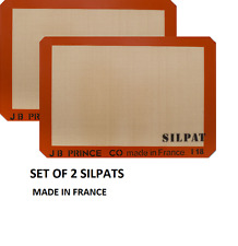 "Silpat Premium Silicone Baking Mat, Half Sheet Size, 11-5/8"" x 16-1/2"" Non stick"