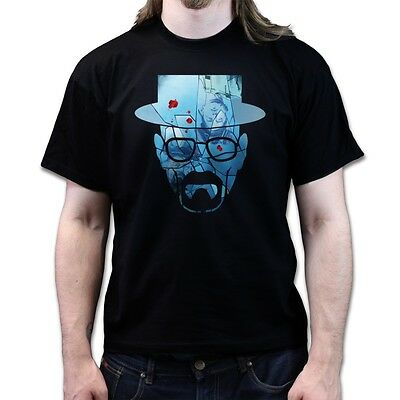 Heisenberg Broken Mirror Breaking Bad Season 5 dvd blu ray T Shirt P66