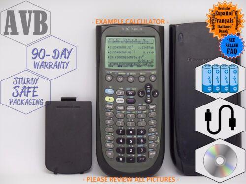 Popular College CAS Black Graphing Calculator Texas Instruments TI-89 TITANIUM