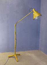 VINTAGE INDUSTRIAL 1950 1960 WORKPLACE PHOTO STUDIO METAL FLOOR LAMP SPOTLIGHT