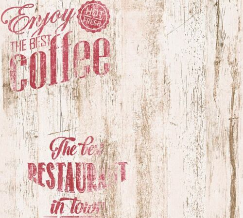 1,52€//1qm Tapete Kaffee Vintage beigebraun 33481-1 AS Creation Simply Decor