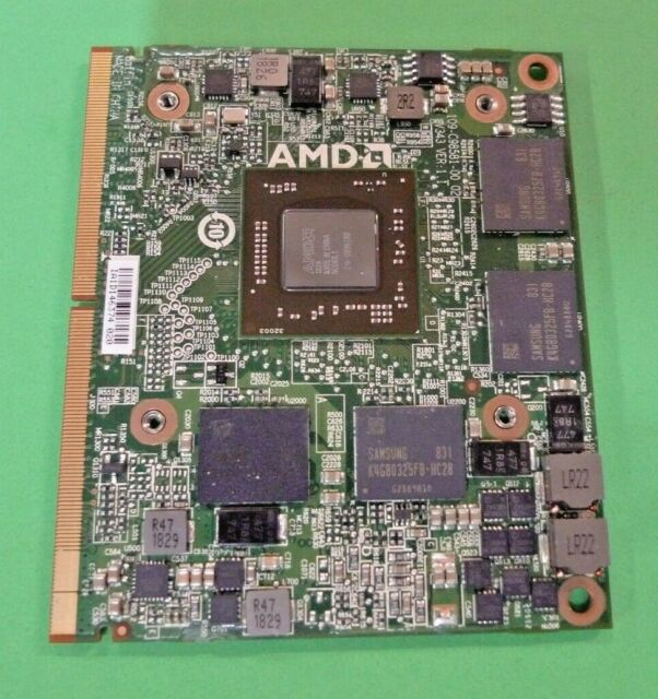NEW Dell Precision M4800 HP EliteBook 8770w AMD RX 460M 4GB Video card