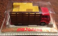 Vintage Majorette Stake Hay Truck Made In France Original Package