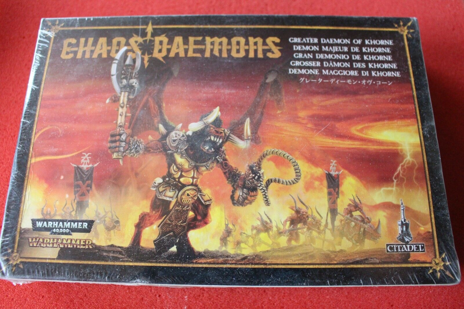 Games Workshop Warhammer Bloodthirster Greater Daemon of Khorne Metal Chaos BNIB