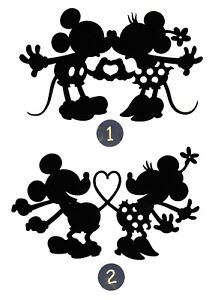 Mickey-amp-Minnie-in-Love-Silhouette-Die-Cut-3-034-4-034-or-6-034-tall-Any-Color