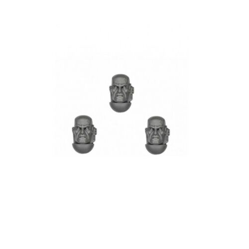 Space Marine Tactical Squad Bare HEAD B x 3 Adeptus Astartes 40K