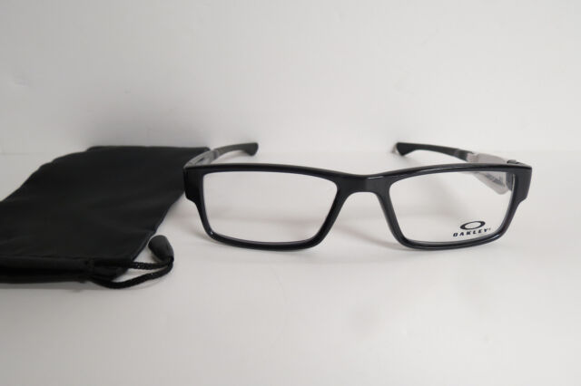 42b4b7b8b8c Oakley Ox8046 0255 Airdrop Black Ink Eyeglasses Authentic 55 for ...
