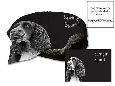 "45/""x31/"" Springer Spaniel chien lit lit de Voiture Lit Couverture en polaire douce Throw Cover Pet Animal"