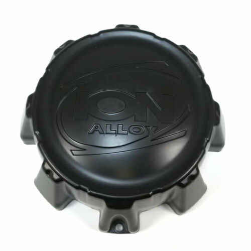 Ion Alloy Matte Black Wheel Center Hub Cap 8 Lug 8x165.1 179 C-202205 C202205