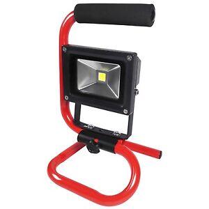 amtech 230v 10w adjustable cob led portable work lamp builders work