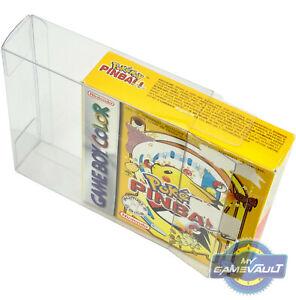 GameBoy Caja Protector para Pokemon Rumble Juego de Pinball 0.5mm plástico caso de exhibición