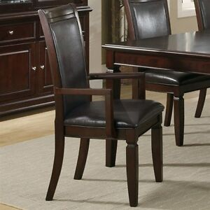 arm dining chair  about coaster fine furniture  ramona arm dining chair set of