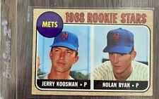 1968 Topps Rookie Stars 177 Baseball Card