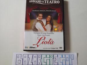 Dvd-Andiamo-a-Teatro-Liola-039-M-Arcuri-G-Jannuzzo-Gigi-Proietti