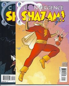 Dc Convergence Shazam 1 And 2 Of 2 Mary Marvel Captain Marvel