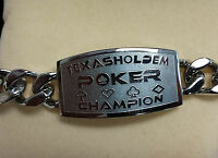 Texas Hold'em Poker Champion Bracelet Great Tournament Prize Wsop Free Shipping