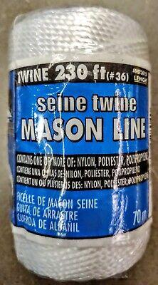 NST3612 #36 x 230/' White Twisted Mason Line