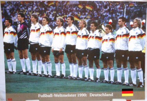 Fan Big Card Edition A29 + Deutschland Das Finale Fußball Weltmeister 1990