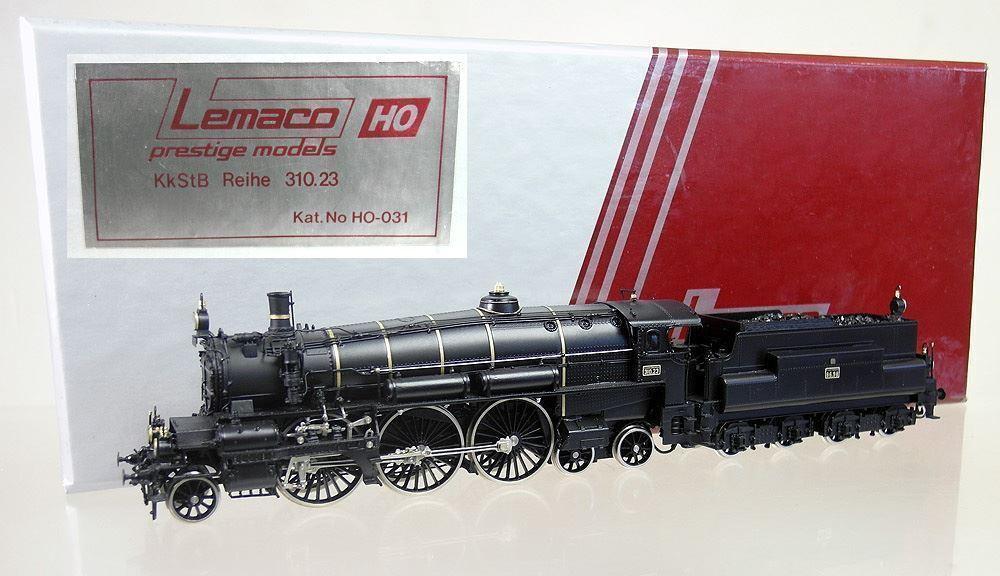 Gr005 | LEMACO h0-031 - Locomotiva 310.23 kkStB * perfette condizioni *