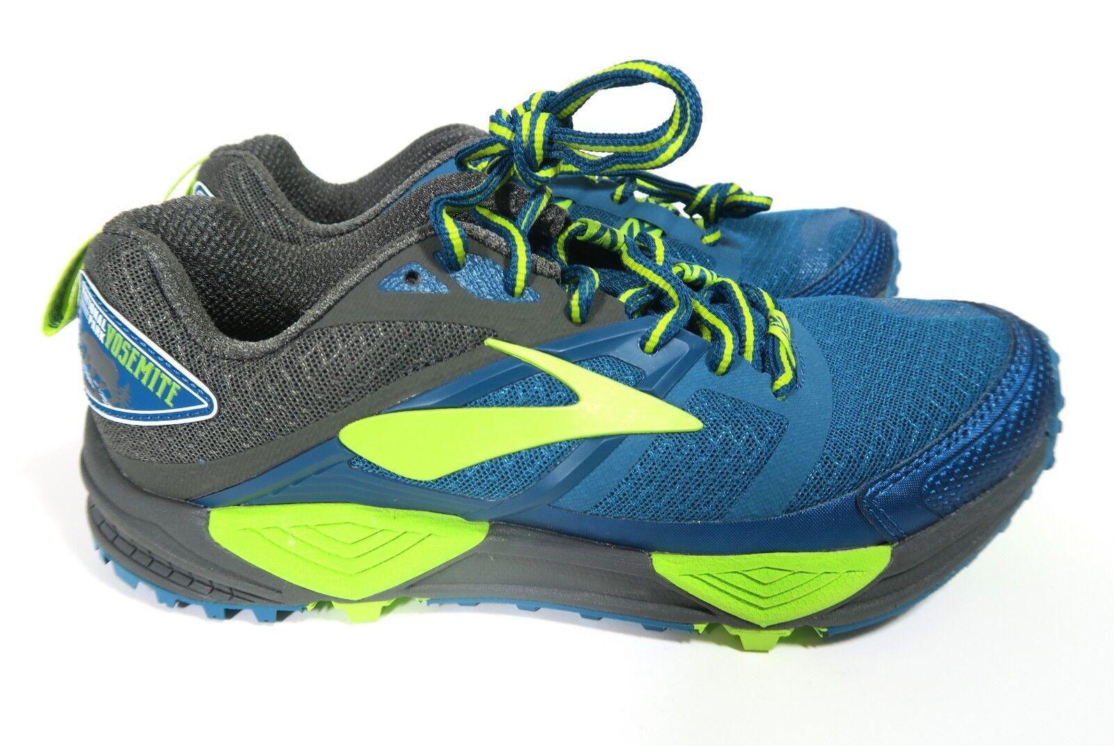Nuevo para hombres Brooks Cascadia 12 Park Yosemite Trail Running Zapatos National US 8