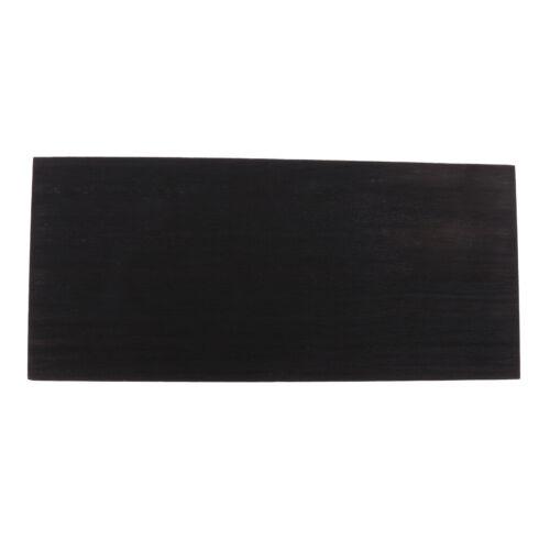 Black Wood Head Furnier Headplate Headstock Gitarrenbauer für Gitarrenbauer