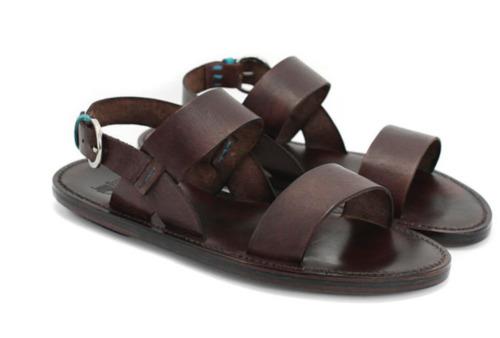 John Fluevog Men's Leather Sandals Size 12 EUC