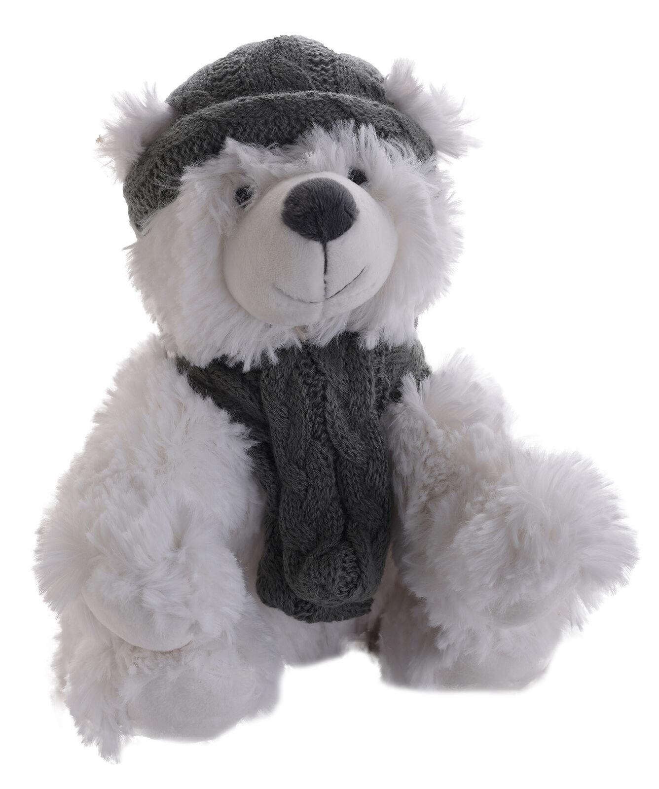 Jomanda Super Soft Winter Eisbär Plüschtier  | Spielen Sie Leidenschaft, spielen Sie die Ernte, spielen Sie die Welt