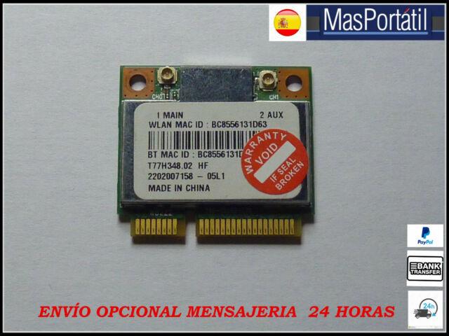 PLACA  WLAN WIFI  PCI CARD  ATHEROS AR5B22  PARA PORTATIL