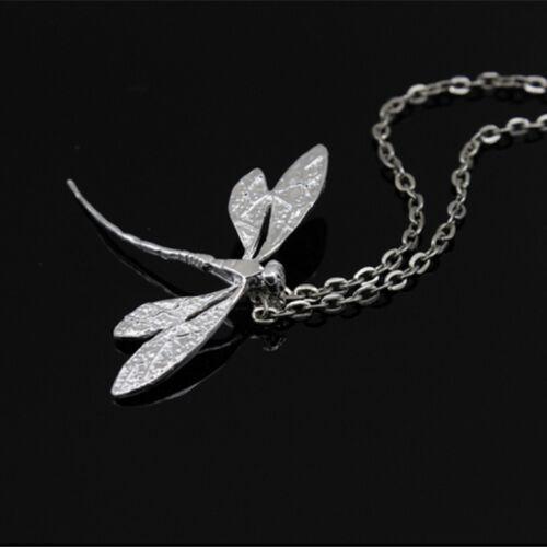 1pc Femmes Libellule Collier Pendentif 20 in environ 50.80 cm chaîne fashion bijoux meilleur cadeau