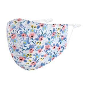 Mund-Nasen-Maske-Blumen-Blueten-100-Baumwolle-Waschbar