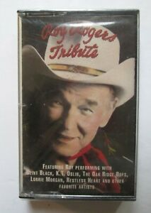 NEW / SEALED: Roy Rogers: Tribute (Cassette, 1991)