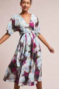 8e5e772f74b9d Image is loading anthropologie-the-odells-printed-dress