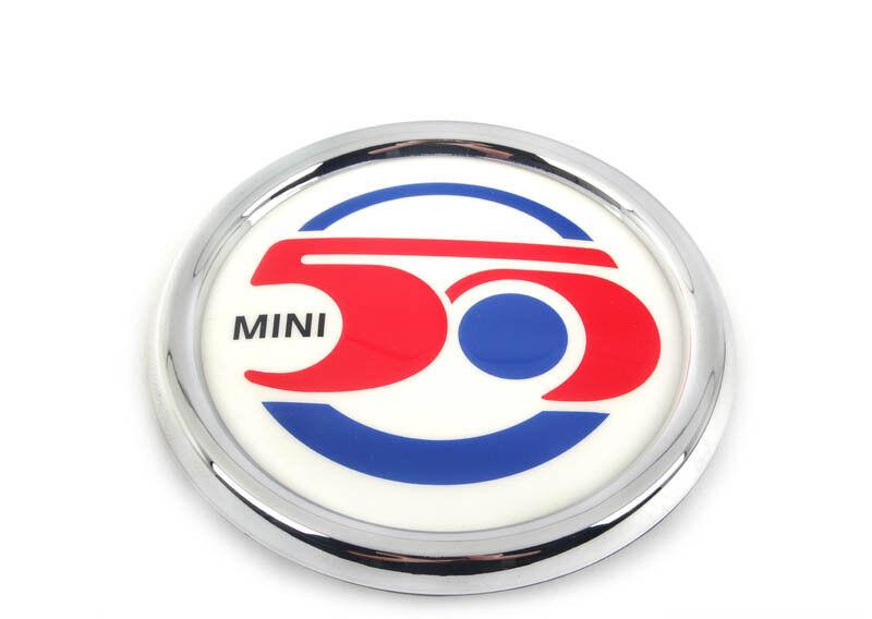 Neu Original Mini R56 Clubman R55 50 Years Years Years Abzeichen Grill 7238085 4147c9