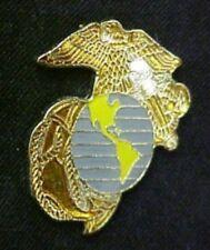 US Marine Corp Military Anchor World Globe Eagle Insignia Emblem Lapel Pin